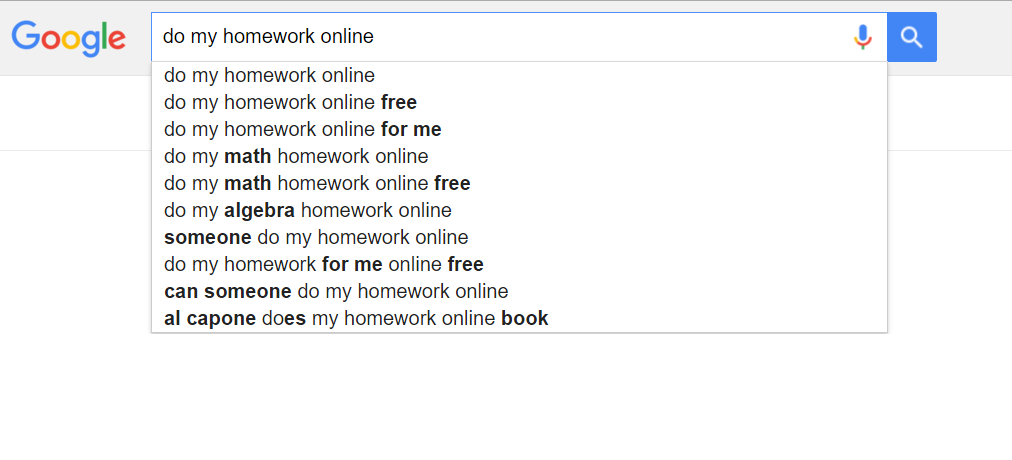 Homework online do