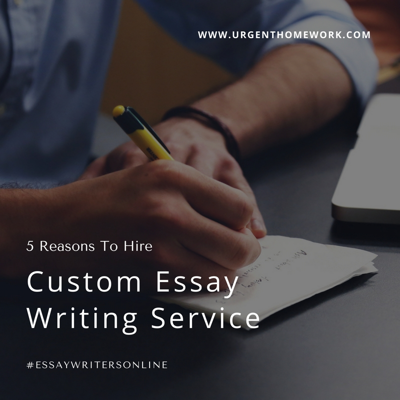 Online Custom Essay Writing Service