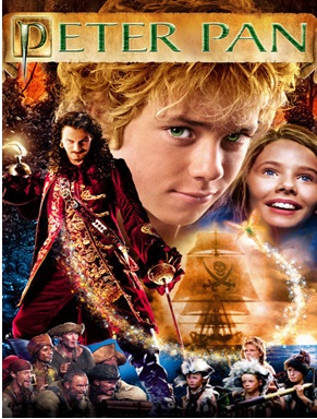 Peter Pan JM Barrie Jeremy Sumpter Rachel Hurd Wood Finding Neverland