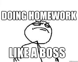 how to do homework on time