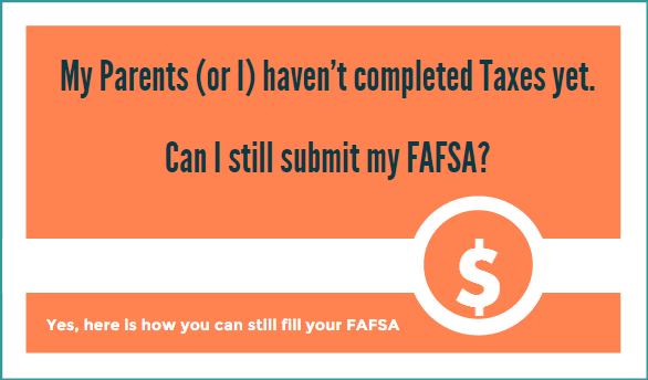 FAFSA fill taxes income