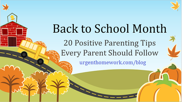 back to school parents handbook