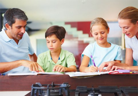parents homework kids