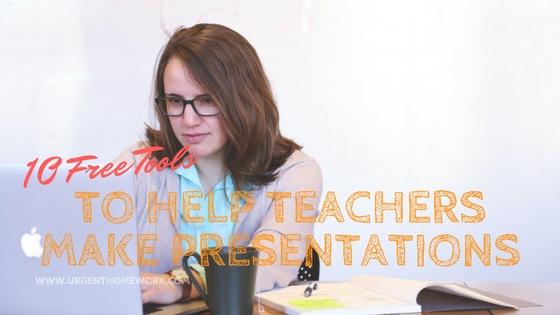 free presentation tools teachers