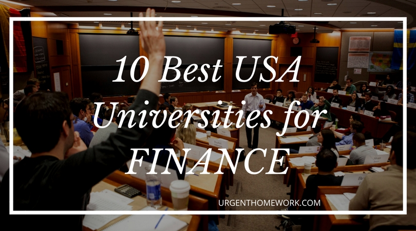 finance help universities USA