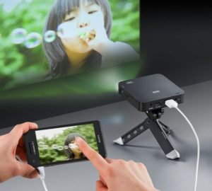 ipad portable projector