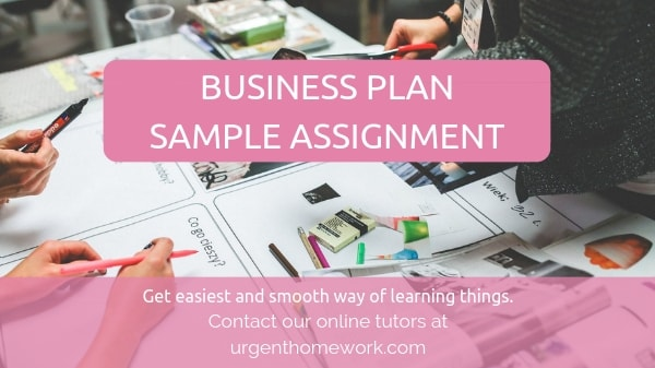 Business Plan Sample Assignment