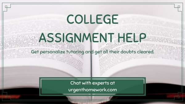 College Assignment Help