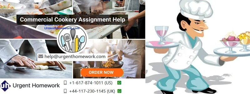 commercial cookery assignment answers