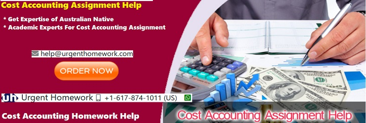 Need help with cost accounting assignment