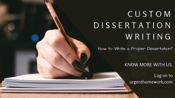 Dissertation Sample | Custom Dissertations, Writing Help, Topics ...