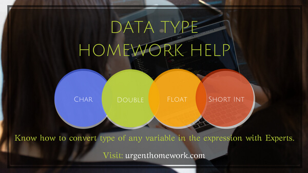 data type assignment help