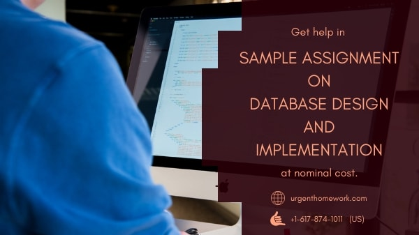 Database Design and Implementation Homework Help