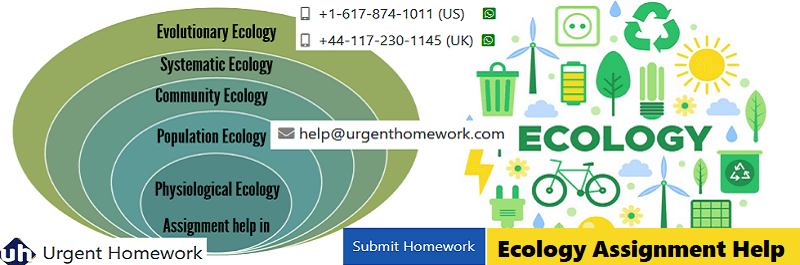 ecology assignment Do you know all questions of ecology and conservation come and get ecology and conservation homework help from myhomeworkhelpcom.
