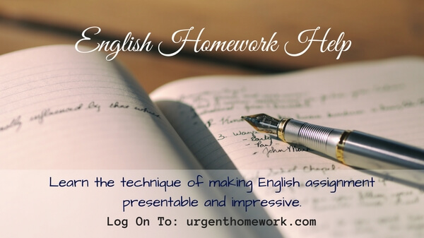 English homework help ks3