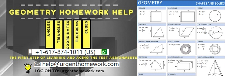 Geometry math homework help