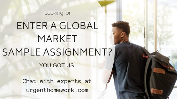 Global Market Assignment