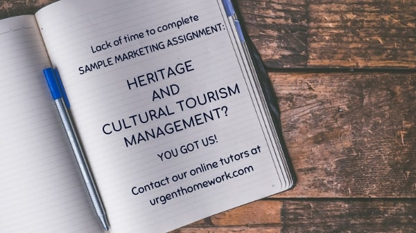 Heritage and cultural tourism management