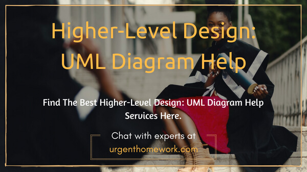 Higher-Level Design UML Diagram Homework Help