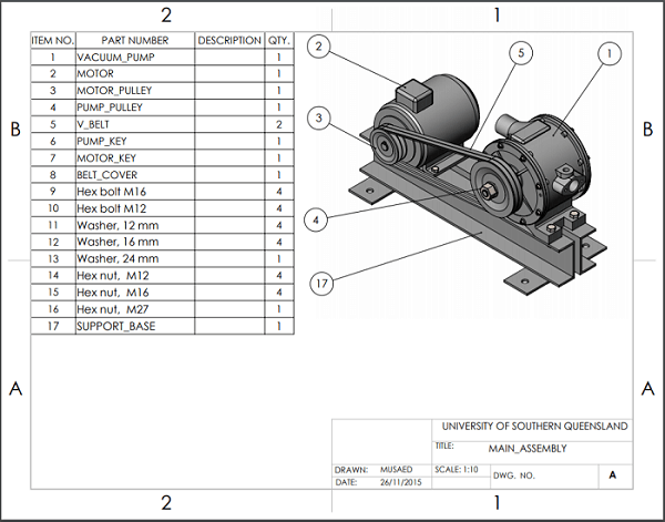 Solidworks Main Assembly
