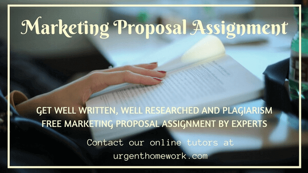 Marketing Proposal Assignment