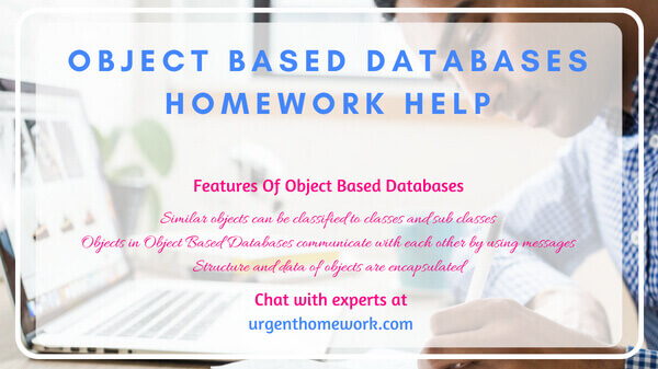 Object Based Databases Homework Help