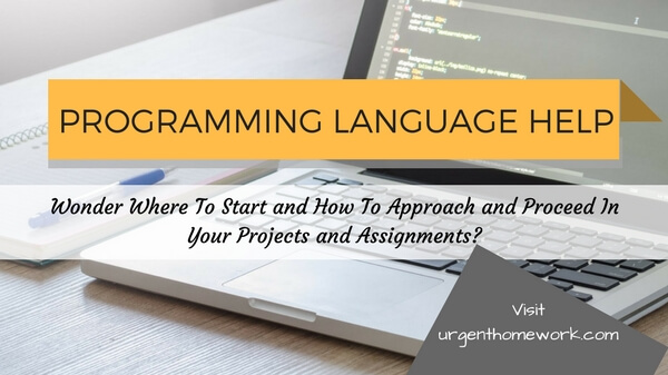 programming language homework help