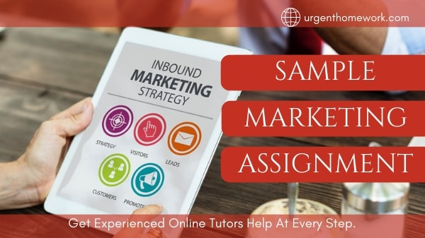 Sample Marketing Assignment