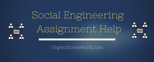 Social engineering assignment help