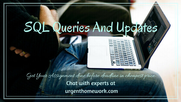 Sql Queries and updates