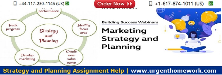 Strategy and Planning Homework Help