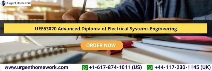 UEE63020 Advanced Diploma of Electrical Systems Engineering
